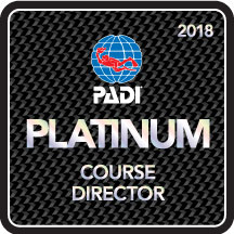 PADI PLATINIUM COURSE DIRECTOR